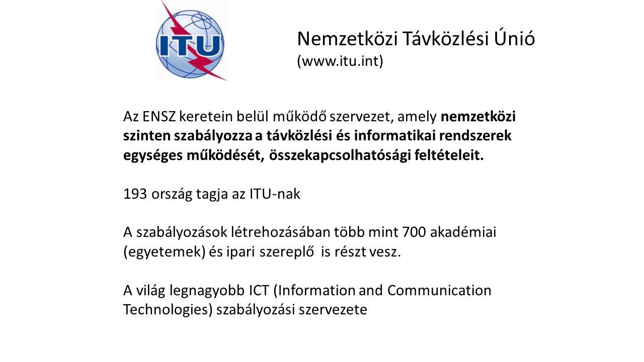 Nemzetközi Távközlési Únió