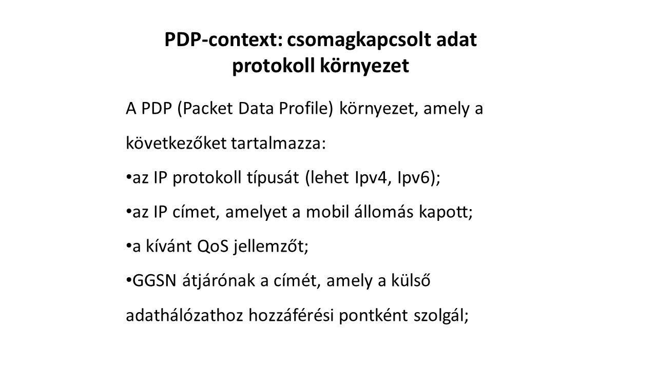 PDP-context: csomagkapcsolt adat protokoll környezet