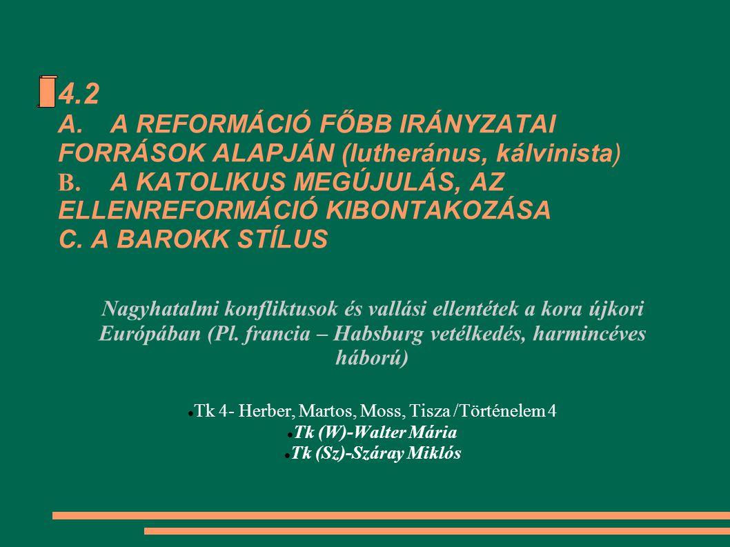 Tk 4- Herber, Martos, Moss, Tisza /Történelem 4