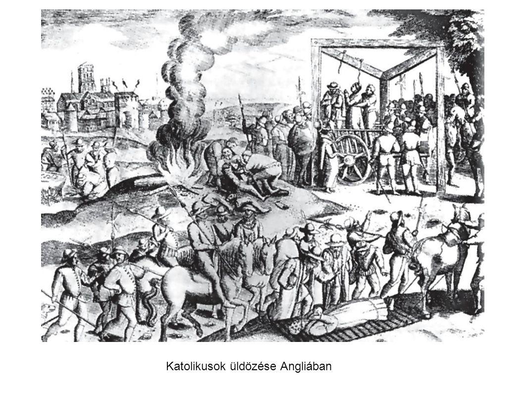 Katolikusok üldözése Angliában
