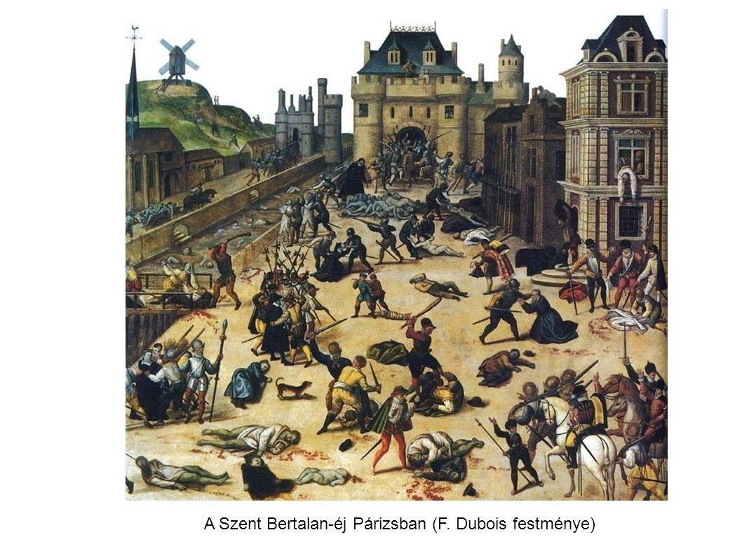 A Szent Bertalan-éj Párizsban (F. Dubois festménye)