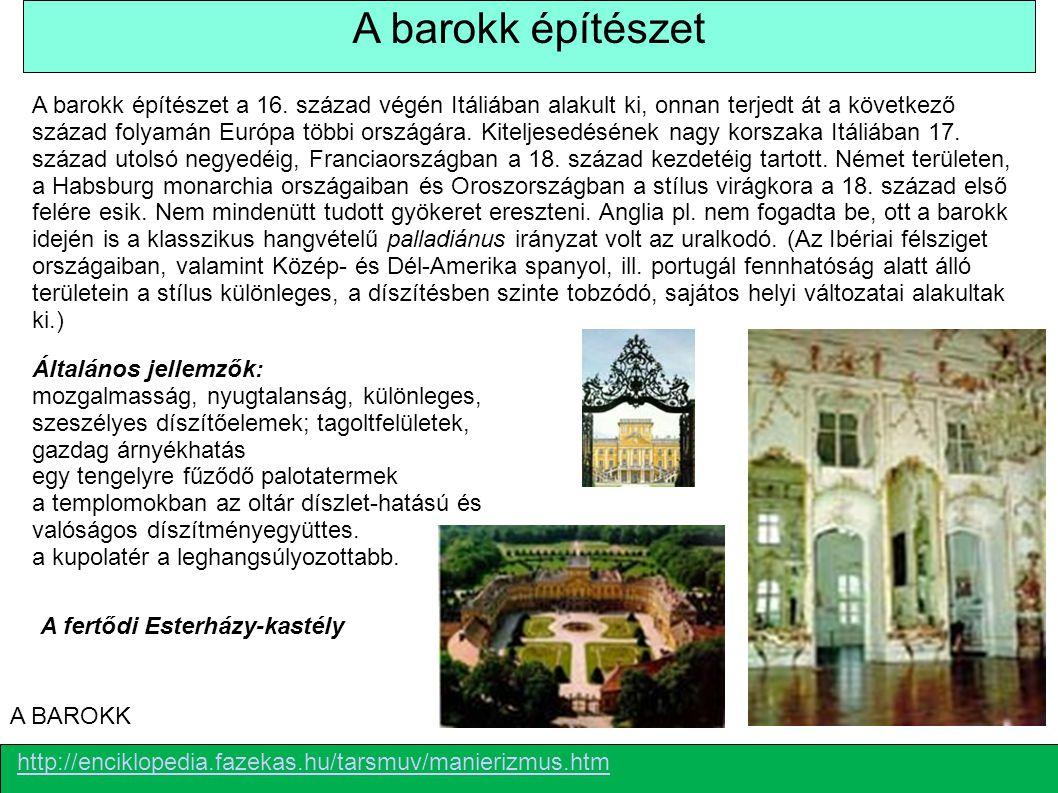 A barokk építészet