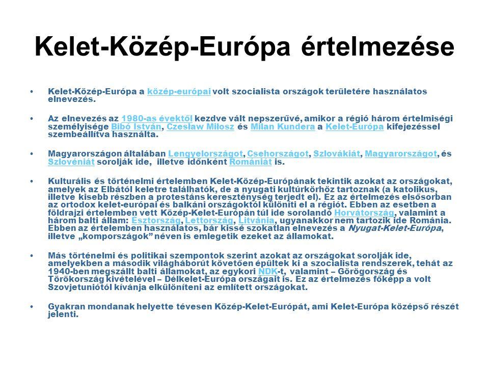 Kelet-Közép-Európa értelmezése