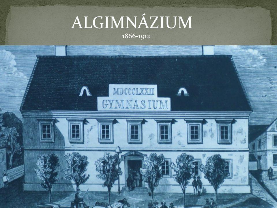 ALGIMNÁZIUM 1866-1912