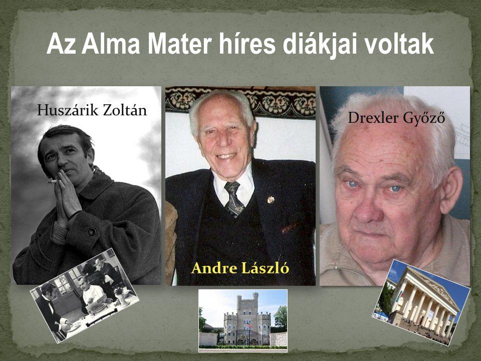 Az Alma Mater híres diákjai voltak