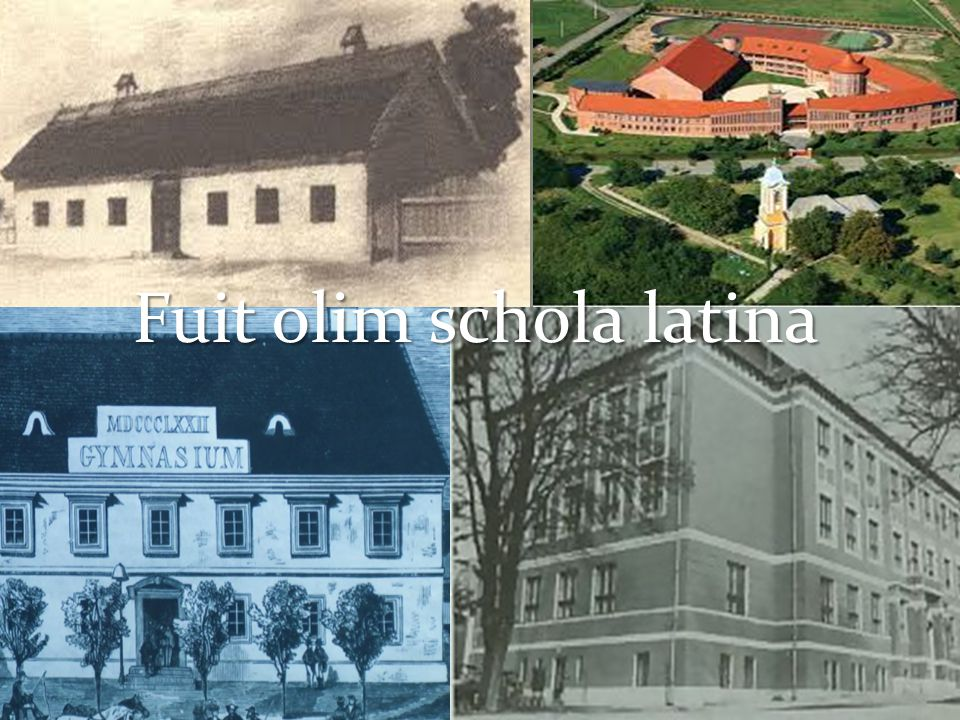 Fuit olim schola latina