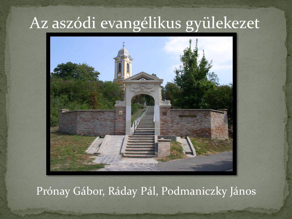 Az aszódi evangélikus gyülekezet