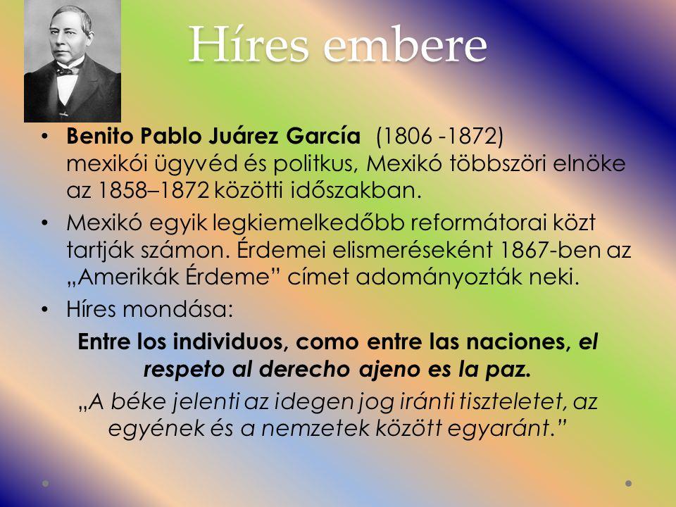 Híres embere Benito Pablo Juárez García (1806 -1872) mexikói ügyvéd és politkus, Mexikó többszöri elnöke az 1858–1872 közötti időszakban.