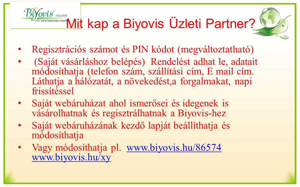 Mit kap a Biyovis Üzleti Partner