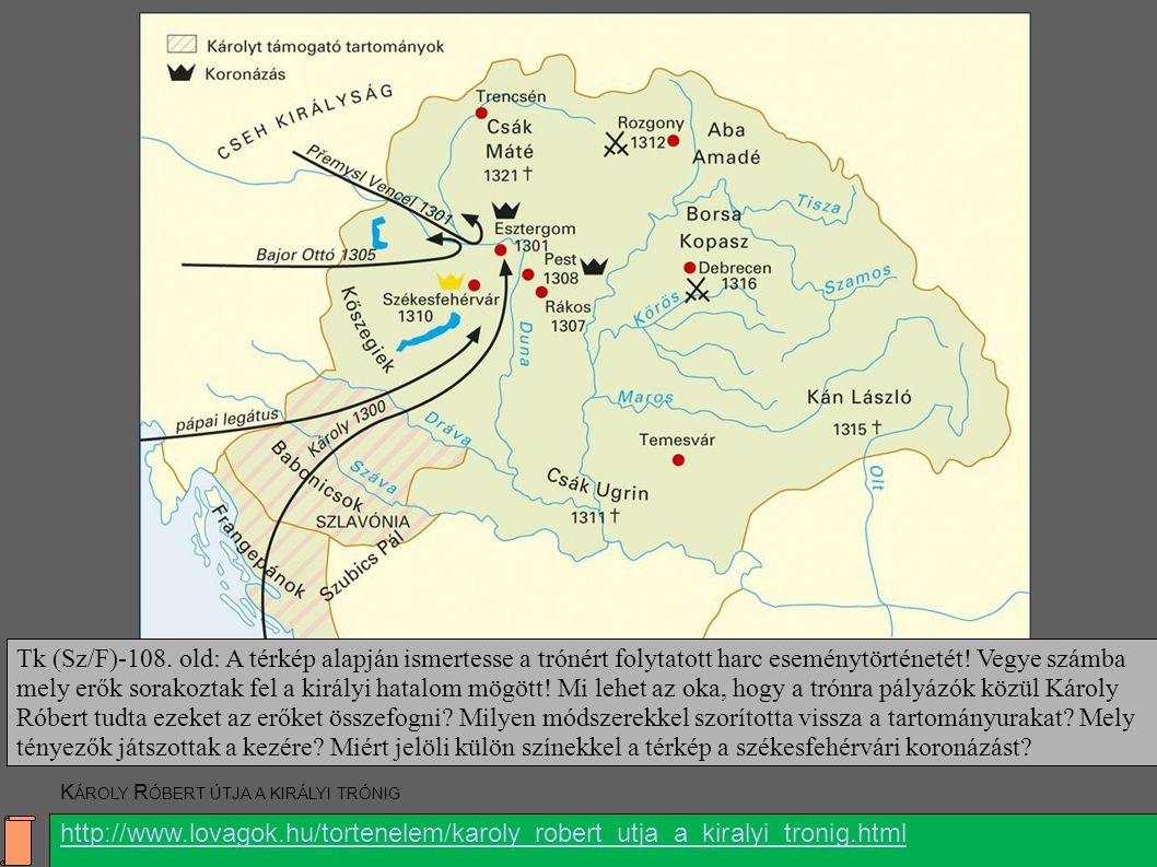 Alul látható a következő oldalon található kép: www. lovagok