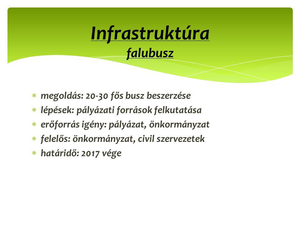 Infrastruktúra falubusz