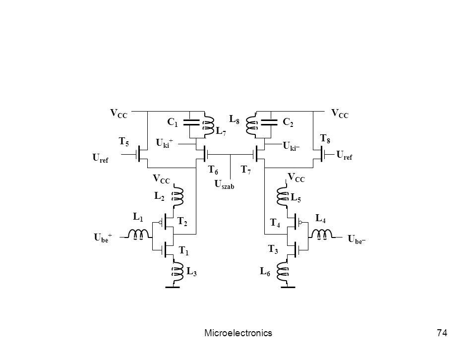 Uszab VCC L1 L8 C2 T1 T2 Uki+ Ube+ Ube_ Uki_ T3 T4 T7 T6 T5 T8 L7 L4