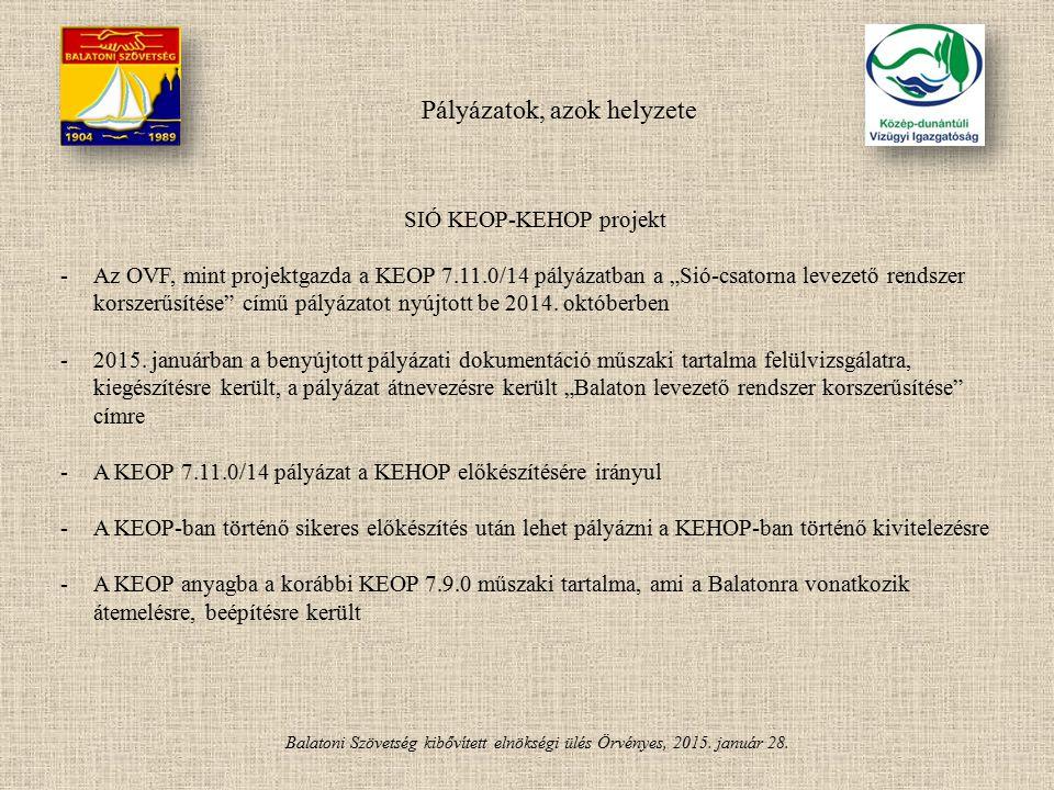 SIÓ KEOP-KEHOP projekt