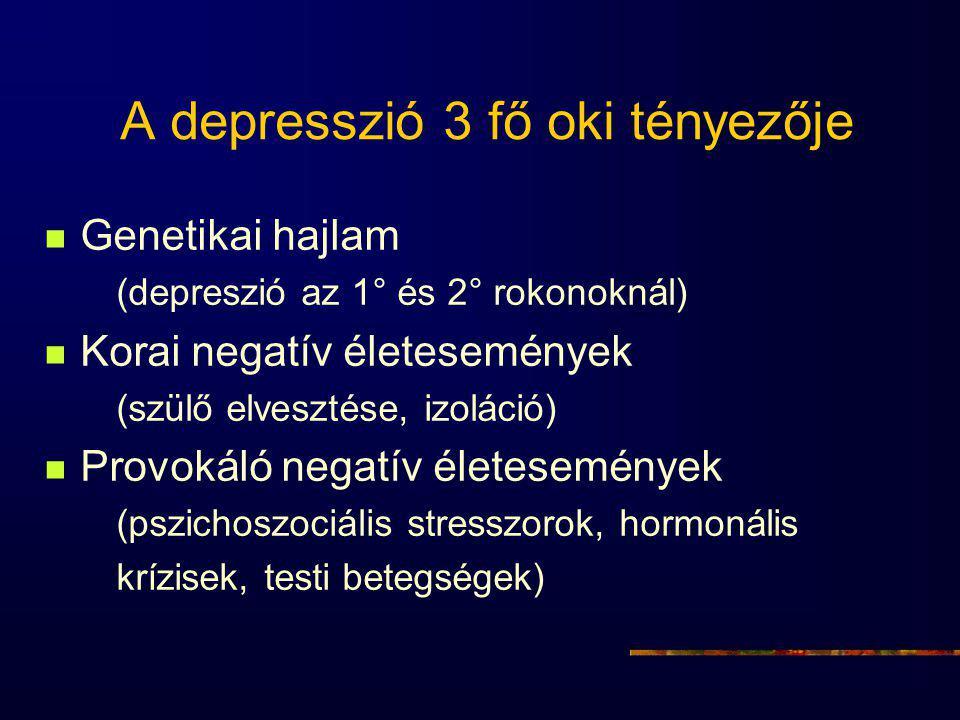 A depresszió 3 fő oki tényezője