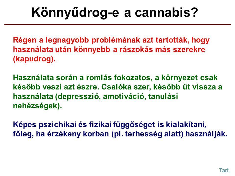Könnyűdrog-e a cannabis