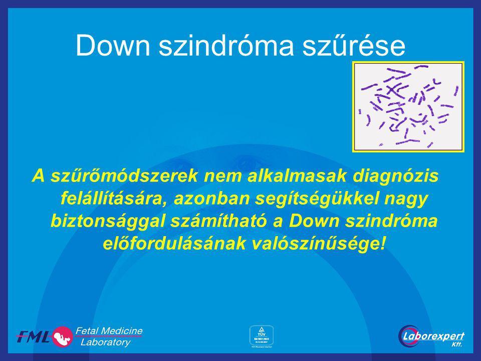 Down szindróma szűrése