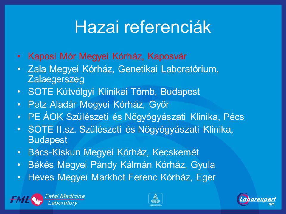 Hazai referenciák Kaposi Mór Megyei Kórház, Kaposvár