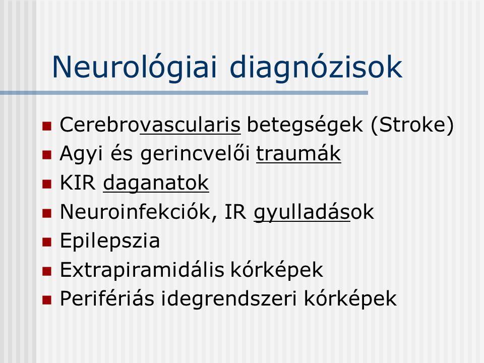 Neurológiai diagnózisok