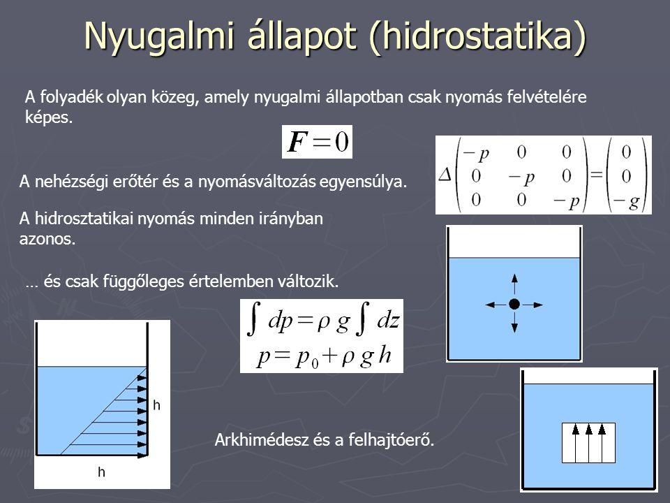 Nyugalmi állapot (hidrostatika)
