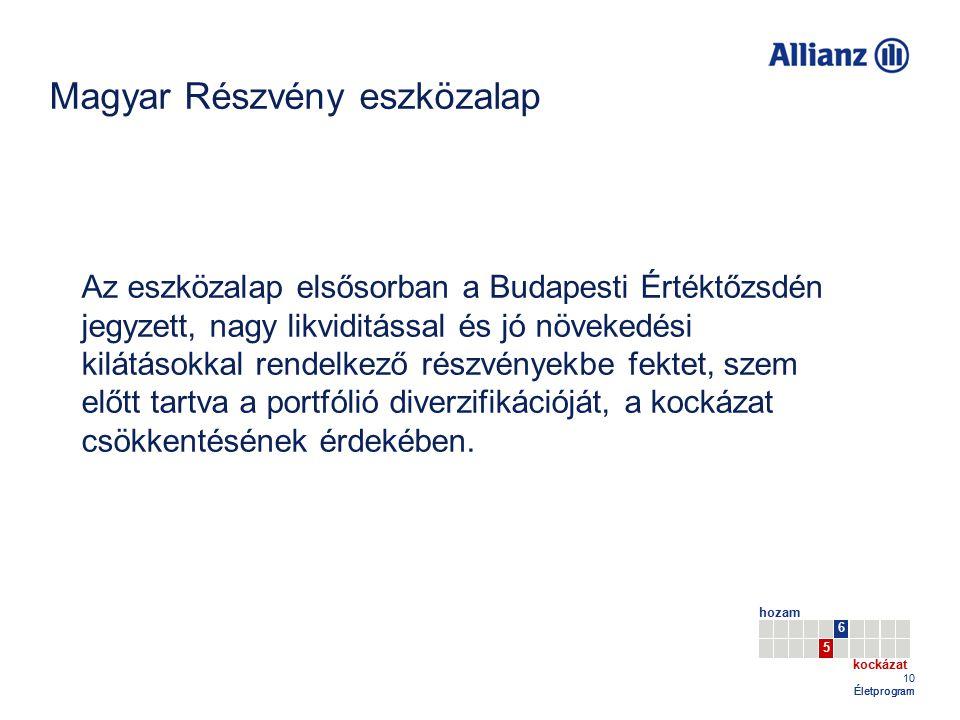 Magyar Részvény eszközalap