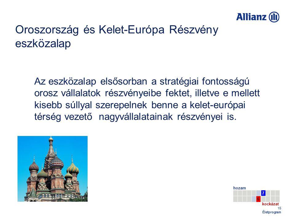 Oroszország és Kelet-Európa Részvény eszközalap