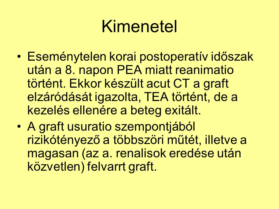 Kimenetel