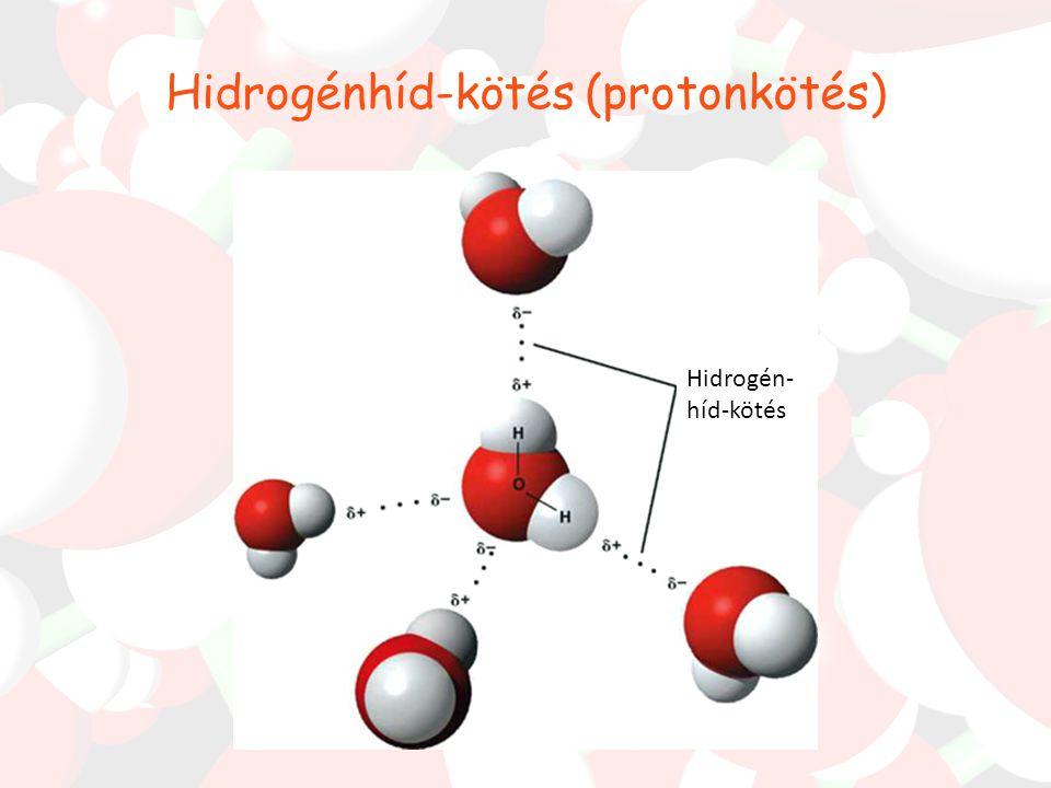 Hidrogénhíd-kötés (protonkötés)