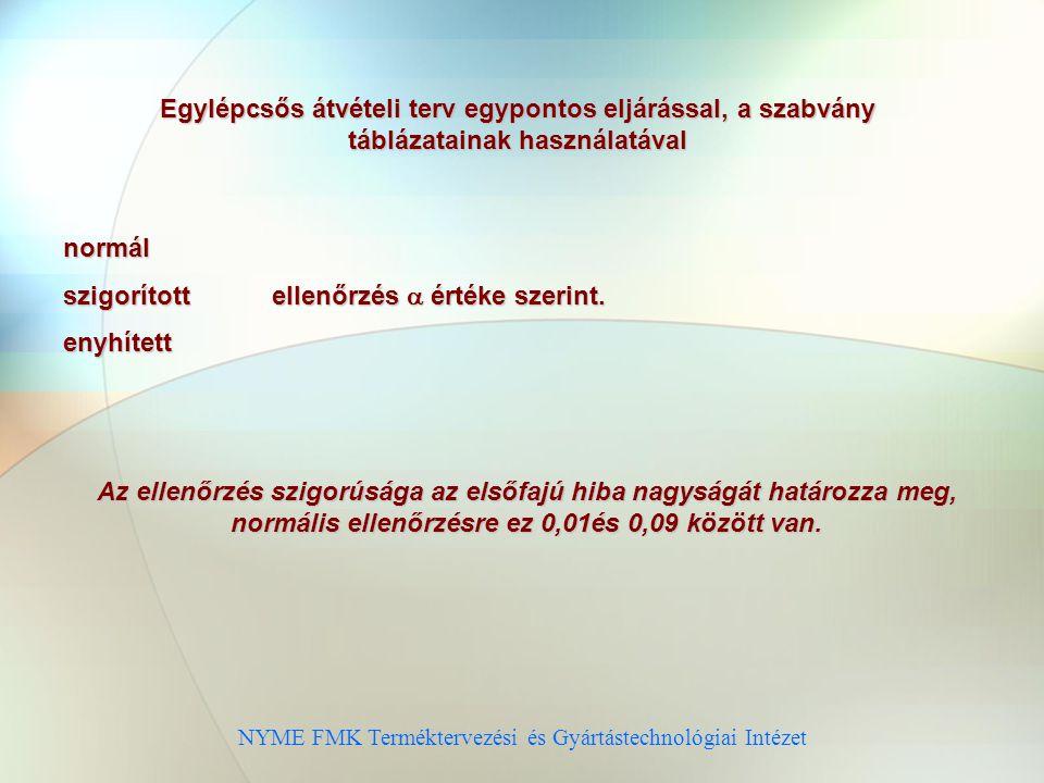 NYME FMK Terméktervezési és Gyártástechnológiai Intézet