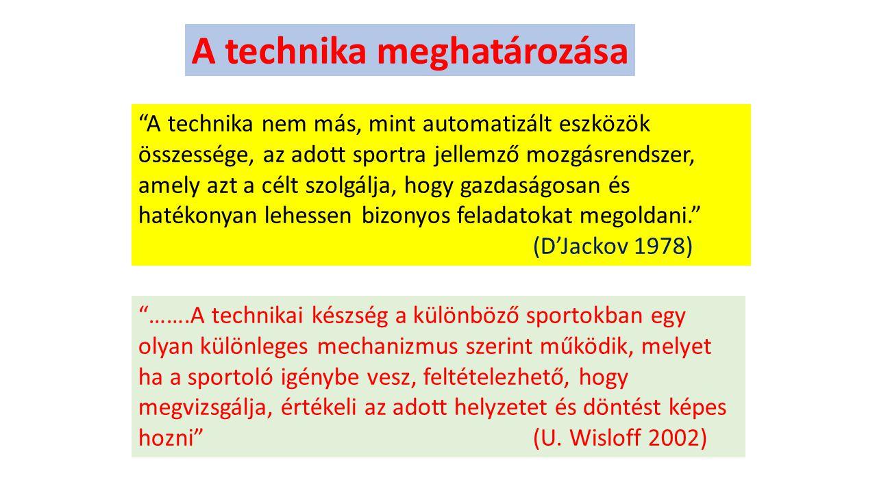 A technika meghatározása
