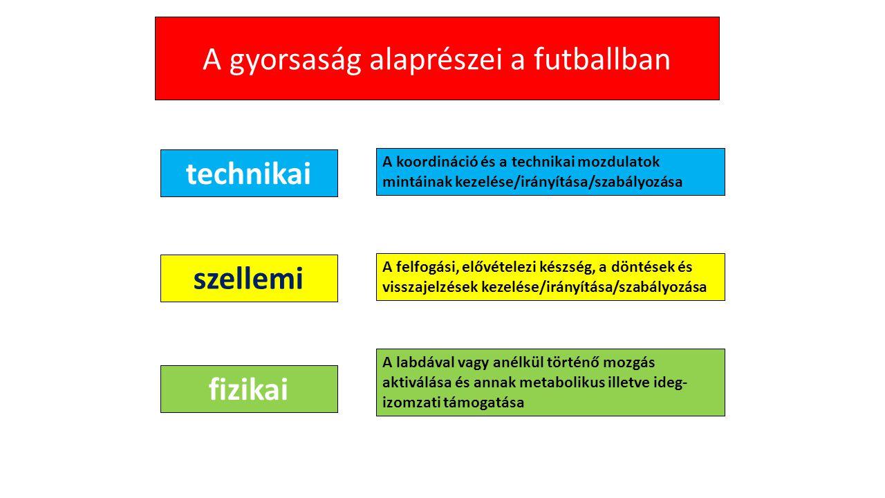 A gyorsaság alaprészei a futballban