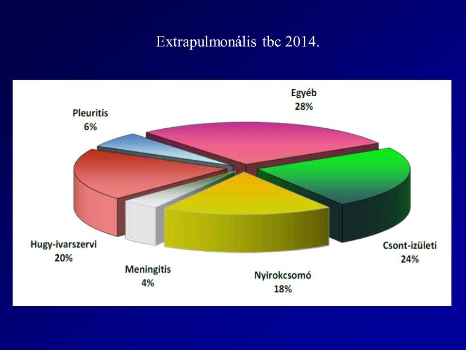 Extrapulmonális tbc 2014.