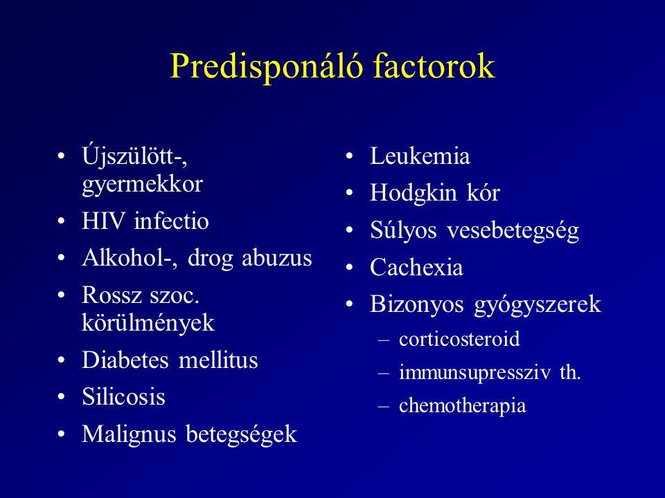 Predisponáló factorok