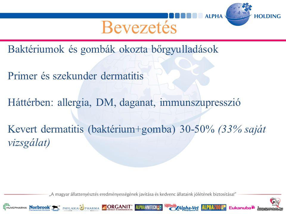 Bevezetés Baktériumok és gombák okozta bőrgyulladások