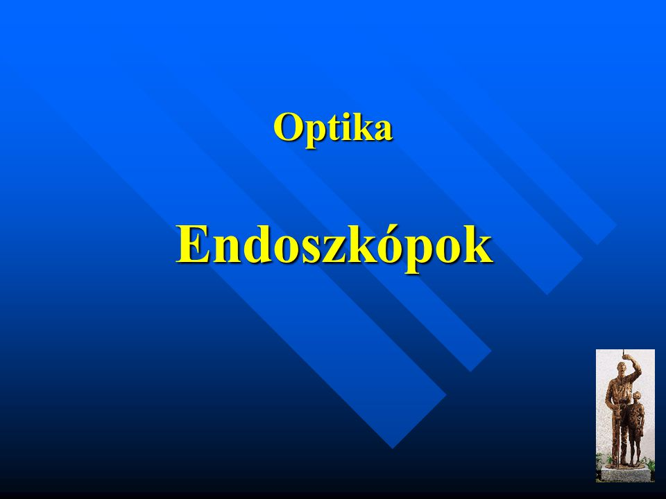 Optika Endoszkópok
