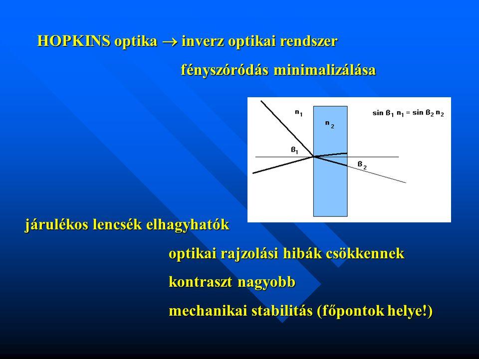 HOPKINS optika  inverz optikai rendszer