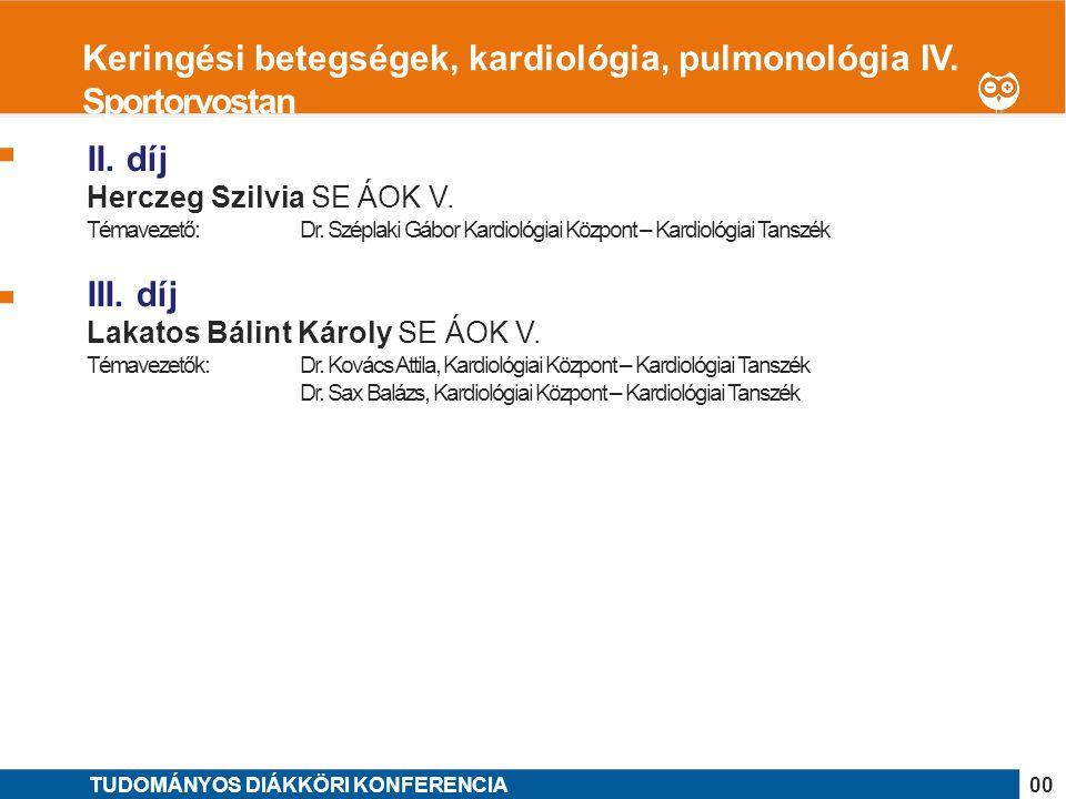 Keringési betegségek, kardiológia, pulmonológia IV. Sportorvostan