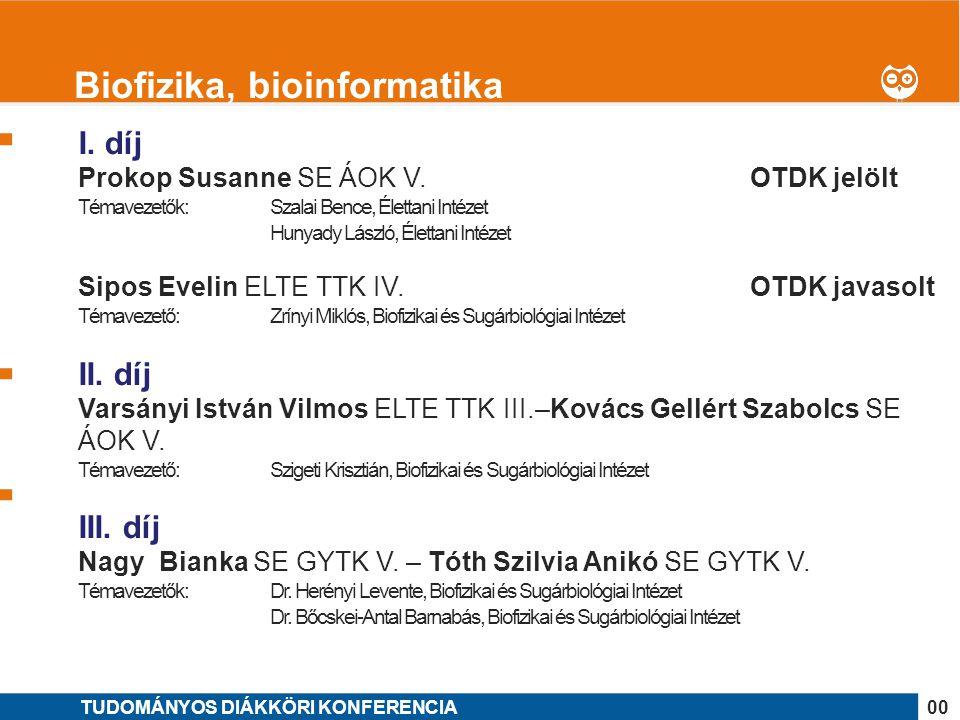 Biofizika, bioinformatika