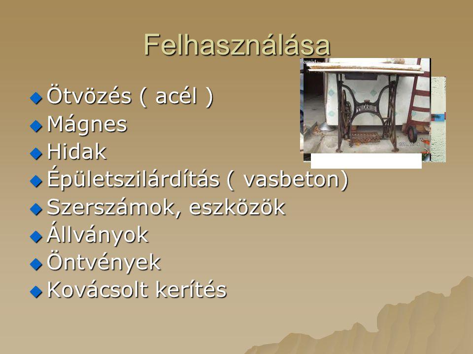 Felhasználása Ötvözés ( acél ) Mágnes Hidak