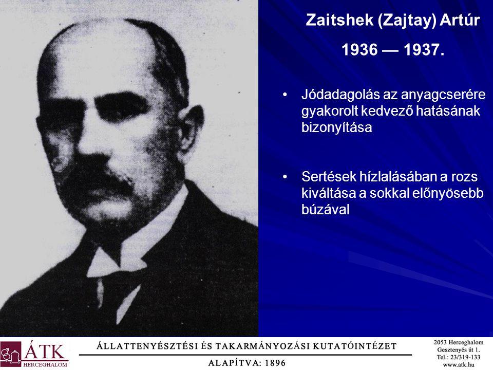 Zaitshek (Zajtay) Artúr