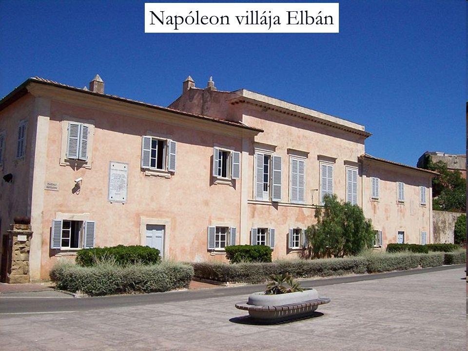 Napóleon villája Elbán