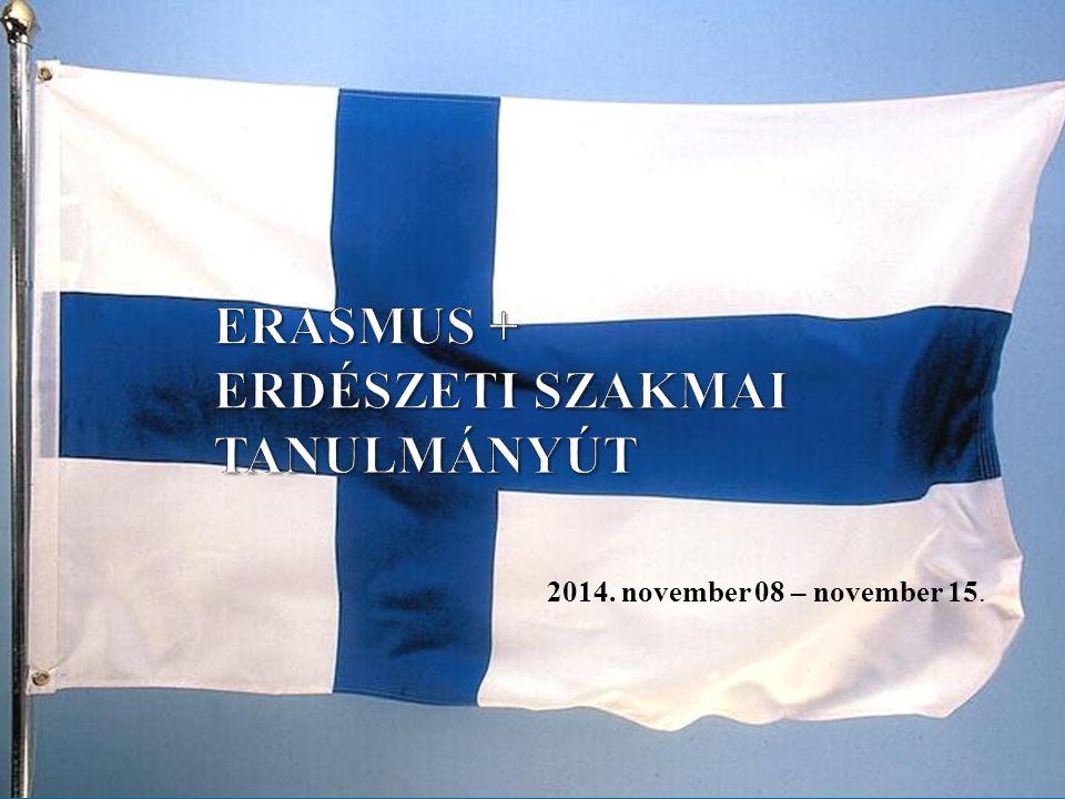 ERASMUS + ERDÉSZETI SZAKMAI TANULMÁNYÚT