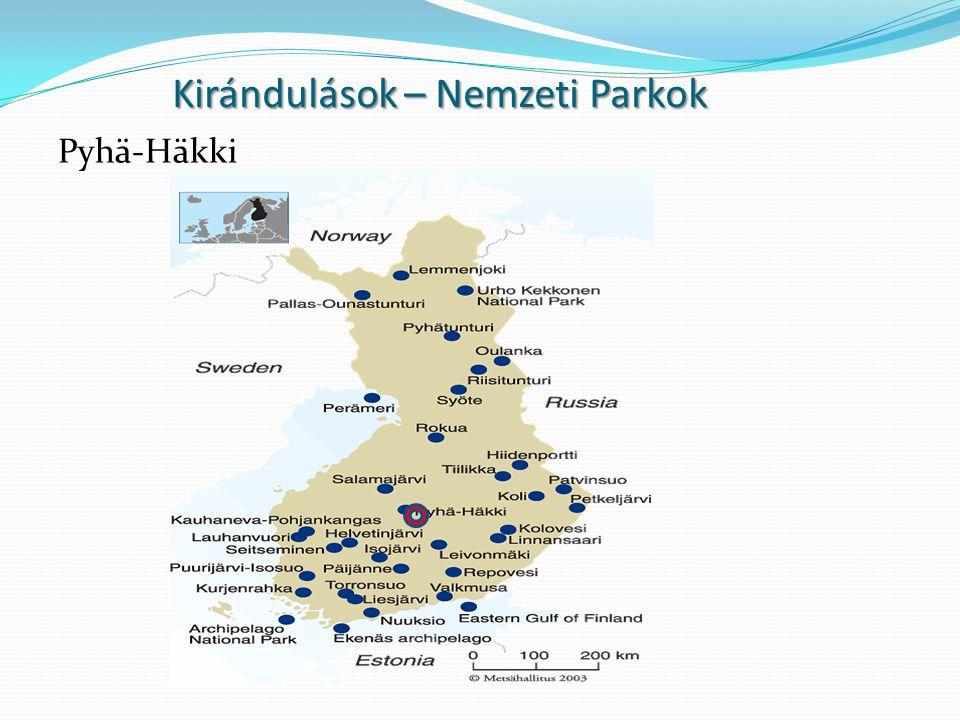 Kirándulások – Nemzeti Parkok