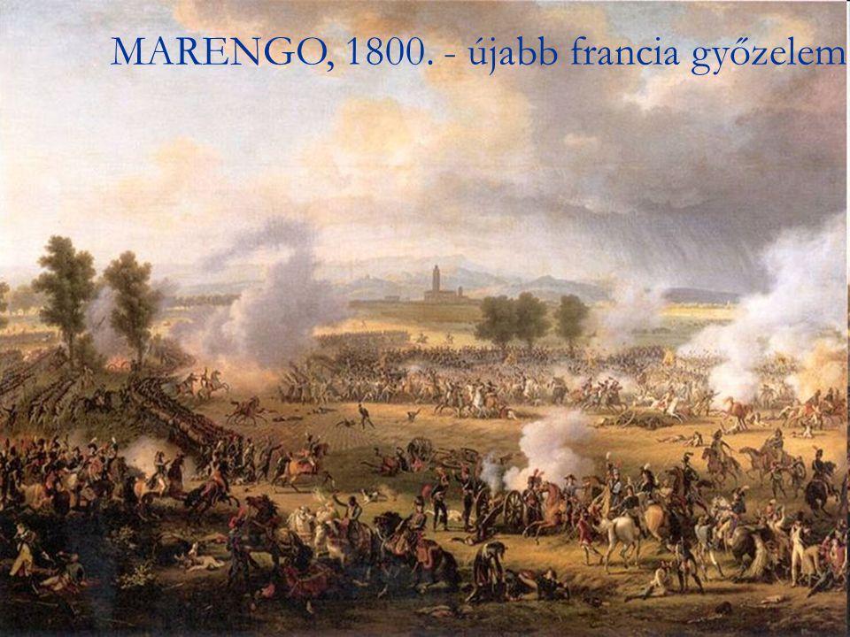 MARENGO, 1800. - újabb francia győzelem
