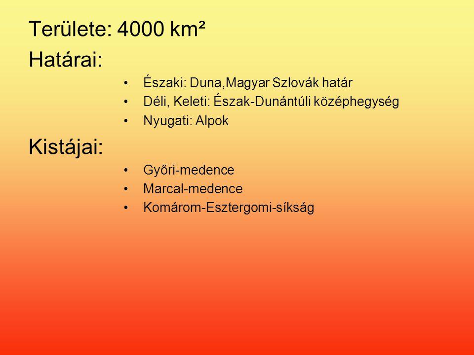 Területe: 4000 km² Határai: Kistájai: