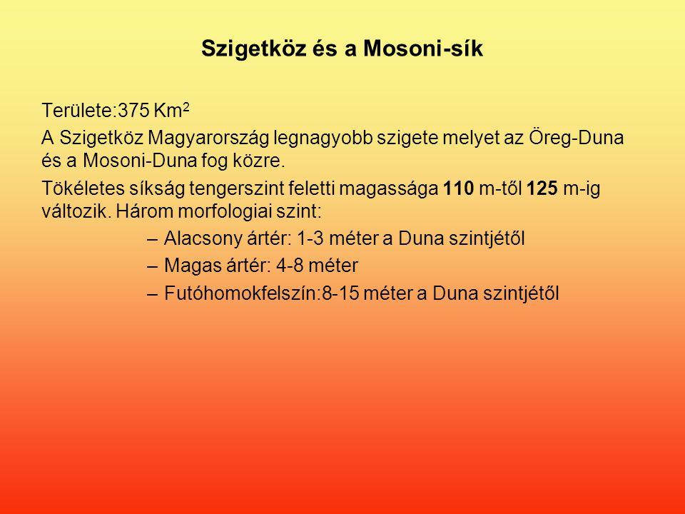Szigetköz és a Mosoni-sík