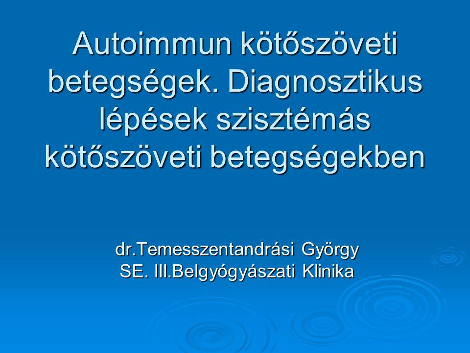 dr.Temesszentandrási György SE. III.Belgyógyászati Klinika