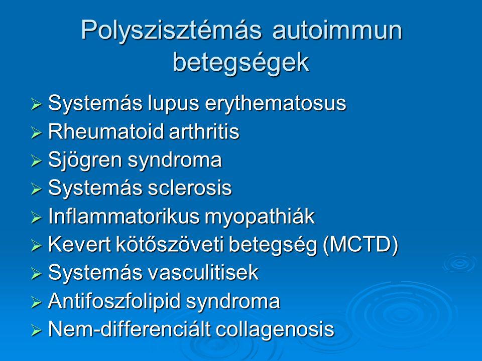 Polyszisztémás autoimmun betegségek