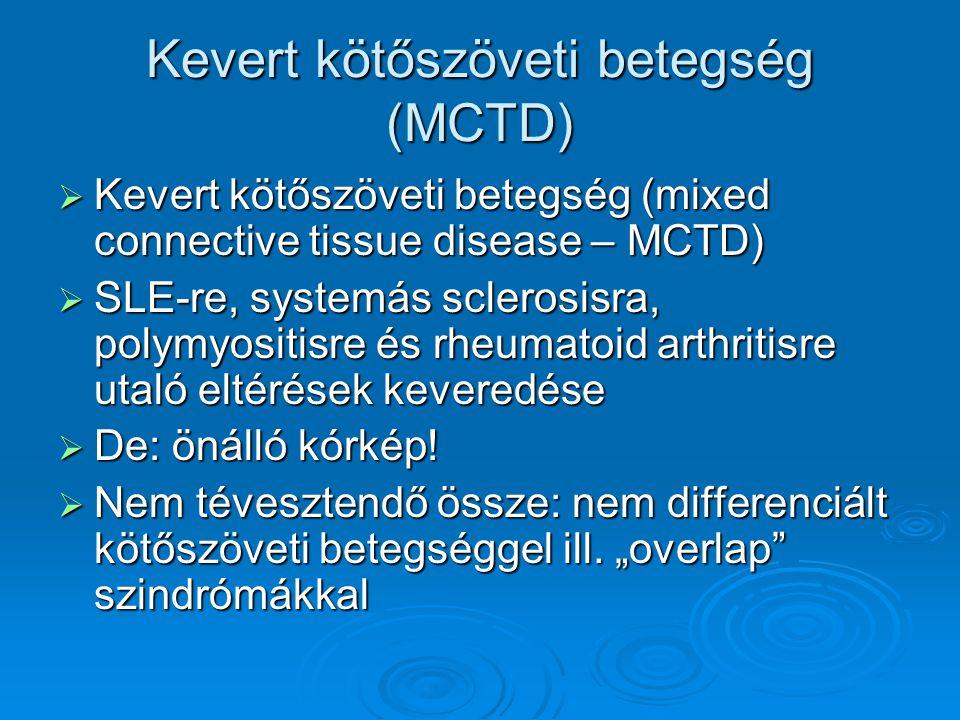 Kevert kötőszöveti betegség (MCTD)