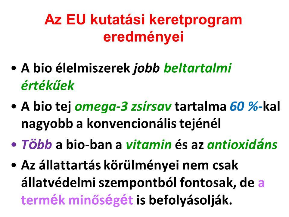 Az EU kutatási keretprogram eredményei