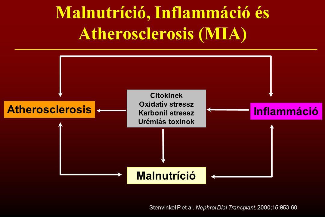 Malnutríció, Inflammáció és Atherosclerosis (MIA)